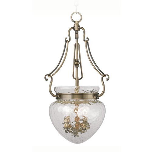 Livex Lighting Livex Lighting Duchess Antique Brass Pendant Light 5043-01