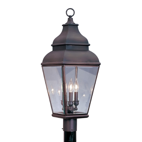 Livex Lighting Livex Lighting Exeter Bronze Post Light 2594-07