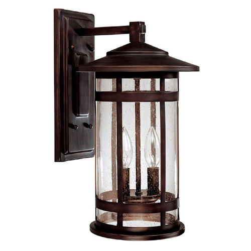 Capital Lighting Capital Lighting Mission Hills Burnished Bronze Outdoor Wall Light 9952BB