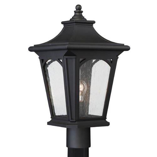 Quoizel Lighting Quoizel Bedford Mystic Black Post Light BFD9010K