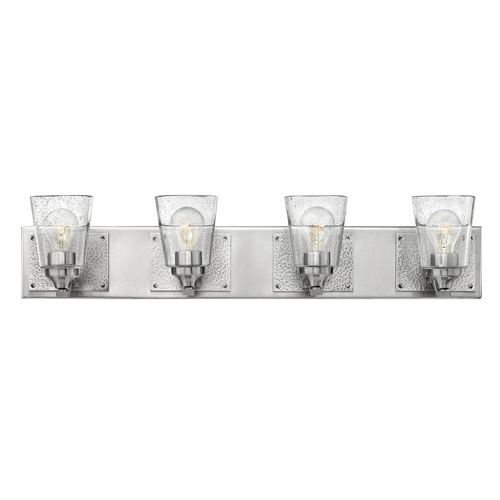 Hinkley Lighting Hinkley Lighting Jackson Brushed Nickel Bathroom Light 51824BN
