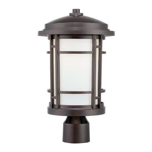 Designers Fountain Lighting Designers Fountain Barrister Burnished Bronze LED Post Light LED22436-BNB