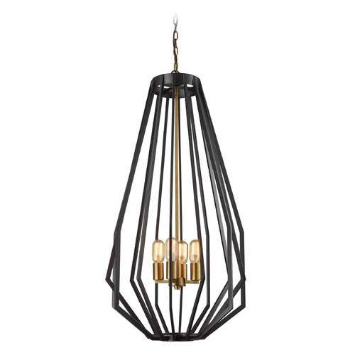 Dimond Lighting Dimond Fluxx Bronze Pendant Light D3134