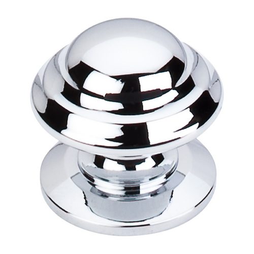 Top Knobs Hardware Cabinet Knob in Polished Chrome Finish M1612