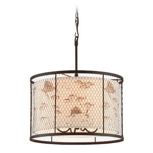 Troy Lighting Troy Lighting Catch N Release Angler Bronze Pendant Light  F4025