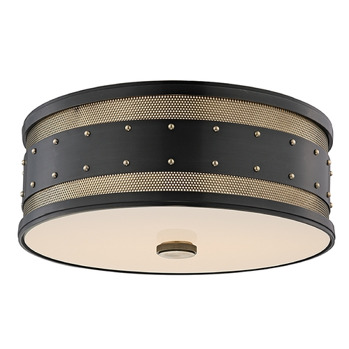 Hudson Valley Lighting Hudson Valley Lighting Gaines Aged Old Bronze Flushmount Light 2206-AOB