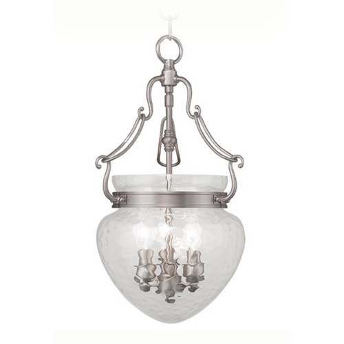 Livex Lighting Livex Lighting Duchess Brushed Nickel Pendant Light 5041-91