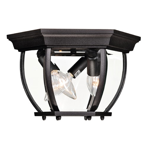 Savoy House Savoy House Black Close To Ceiling Light 07038-BK