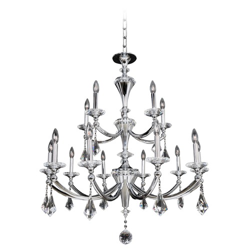 Allegri Lighting Floridia 15 Light Crystal Chandelier 012173-010-FR001