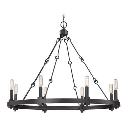 Savoy House Savoy House Lighting Adria English Bronze Chandelier 1-930-8-13