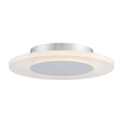 Quoizel Lighting Quoizel Lighting Platinum Collection Aglow White Lustre LED Flushmount Light PCAW1612W