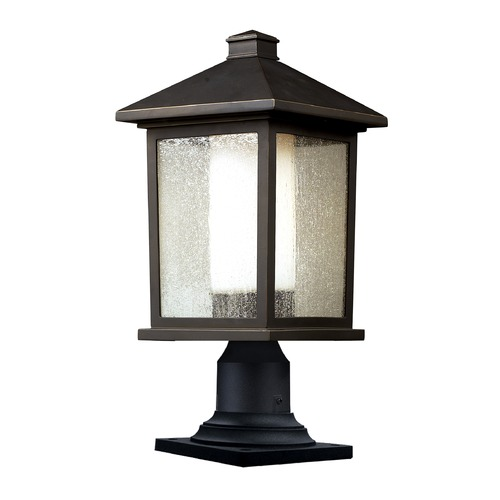 Z-Lite Z-Lite Mesa Oil Rubbed Bronze Post Light 524PHB-533PM-ORB