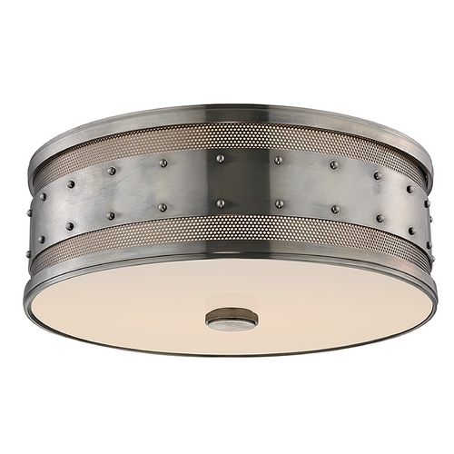 Hudson Valley Lighting Hudson Valley Lighting Gaines Historic Nickel Flushmount Light 2206-HN