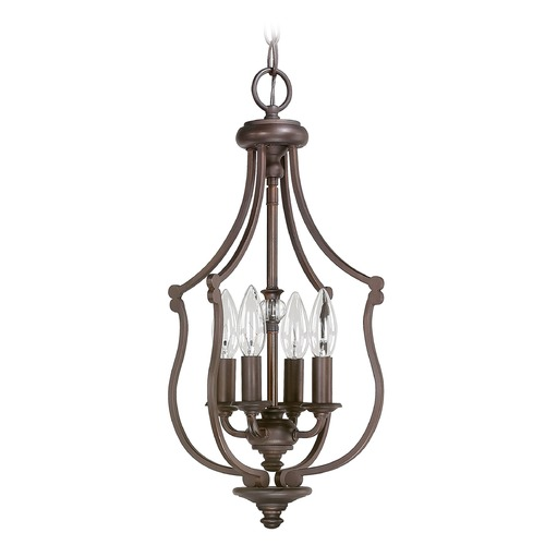 Capital Lighting Capital Lighting Leigh Burnished Bronze Pendant Light 4704BB