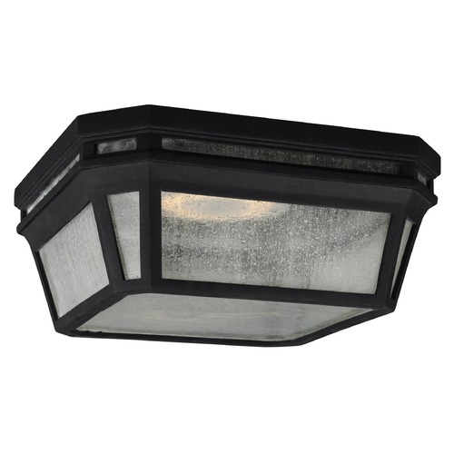 Feiss Lighting Feiss Lighting Londontowne Black Close To Ceiling Light OL11313BK