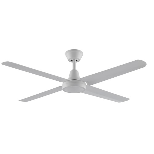 Fanimation Fans Fanimation Fans Ascension Matte White Ceiling Fan Without Light FP6717MW