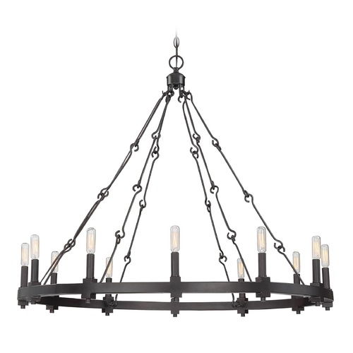 Savoy House Savoy House Lighting Adria English Bronze Chandelier 1-931-12-13