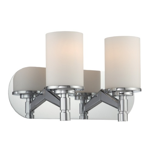 Lite Source Lighting Lite Source Chrome Bathroom Light LS-16312