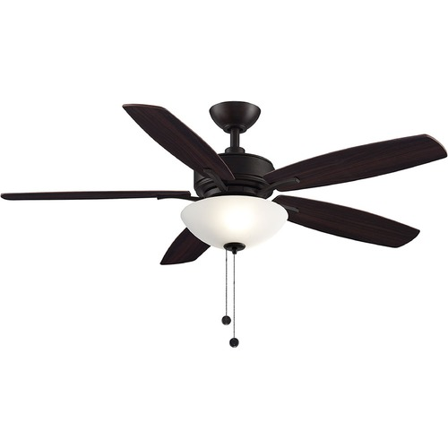Fanimation Fans Fanimation Fans Aire Deluxe Dark Bronze LED Ceiling Fan with Light FP6285BDZ