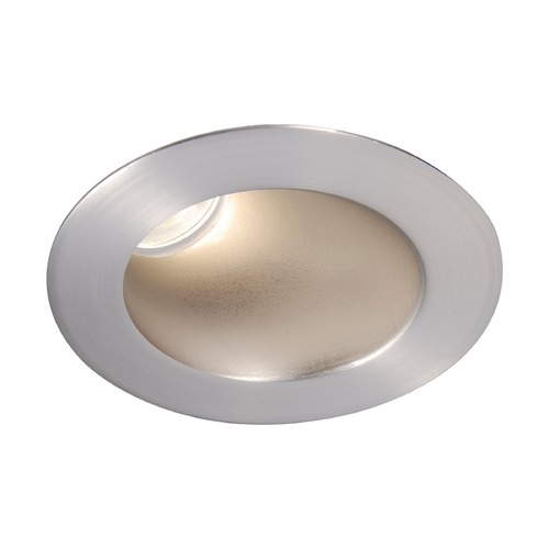 WAC Lighting WAC Lighting Round Brushed Nickel 3.5-Inch LED Recessed Trim 2700K 1010LM 18 Degree HR3LEDT418PS827BN