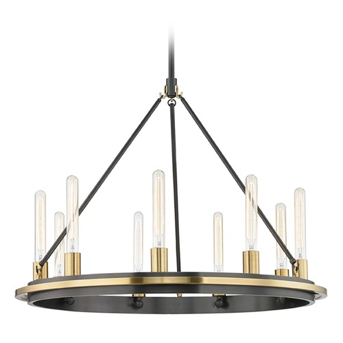 Hudson Valley Lighting Hudson Valley Lighting Chambers Aged Old Bronze Pendant Light 2732-AOB