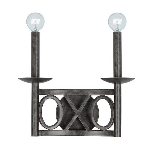 Crystorama Lighting Modern Sconce Wall Light in English Bronze Finish 9242-EB