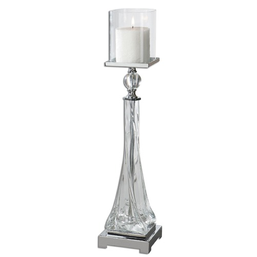Uttermost Lighting Uttermost Grancona Glass Candleholder 19852