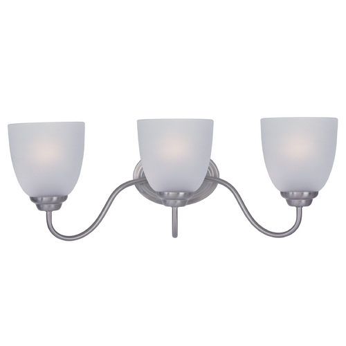 Maxim Lighting Maxim Lighting Stefan Satin Nickel Bathroom Light 10073FTSN