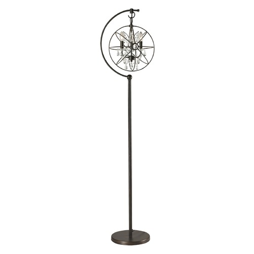 Dimond Lighting Dimond Lighting Oil Rubbed Bronze Floor Lamp D2422