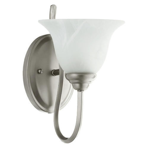 Quorum Lighting Quorum Lighting Spencer Classic Nickel Sconce 5510-1-64