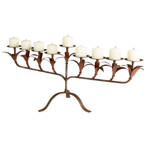 Cyan Design Cyan Design Ornella Rust Candle Holder 06665
