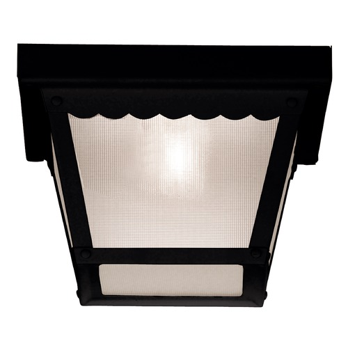 Savoy House Savoy House Black Close To Ceiling Light 07044-BLK