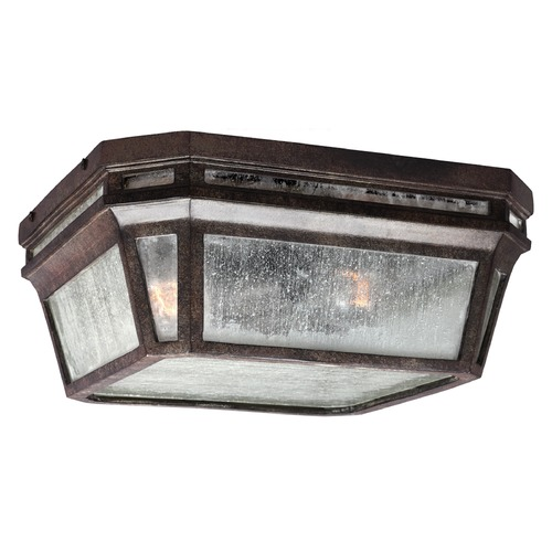 Feiss Lighting Feiss Lighting Londontowne Weathered Chestnut Close To Ceiling Light OL11313WCT