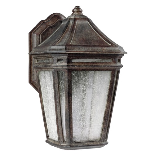 Feiss Lighting Feiss Lighting Londontowne Weathered Chestnut LED Outdoor Wall Light OL11302WCT-LED