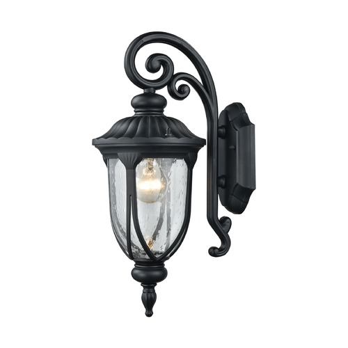 Elk Lighting Elk Lighting Derry Hill Matte Black Outdoor Wall Light 87100/1