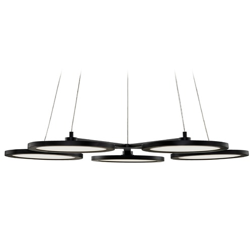 Quoizel Lighting Quoizel Lighting Nitro Matte Black LED Chandelier PCNR5027MBK