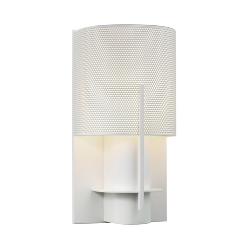 Sonneman Lighting Modern Sconce Wall Light in Satin White Finish 1710.03PF