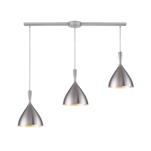 Elk Lighting Modern Multi-Light Pendant Light 3-Lights 17042/3L-ALM
