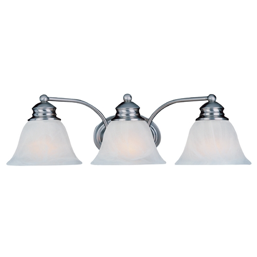 Maxim Lighting Maxim Lighting Malaga Satin Nickel Bathroom Light 2688FTSN