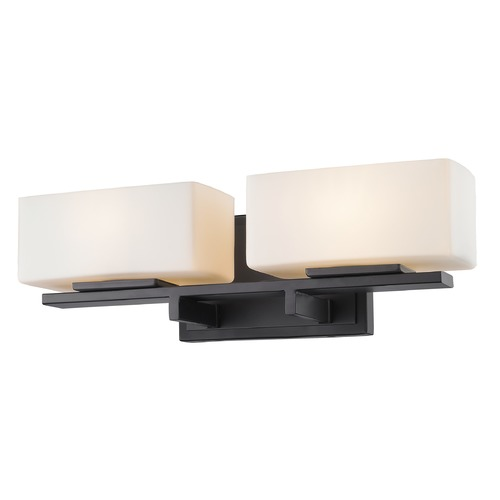 Z-Lite Z-Lite Kaleb Bronze Bathroom Light 3029-2V-BRZ