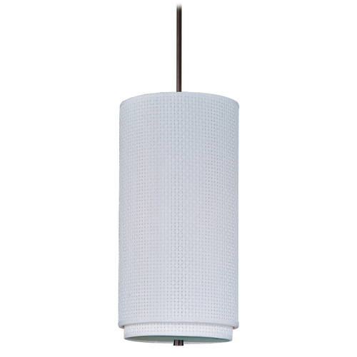 ET2 Lighting Modern Mini-Pendant Light with White Shade E95042-100OI