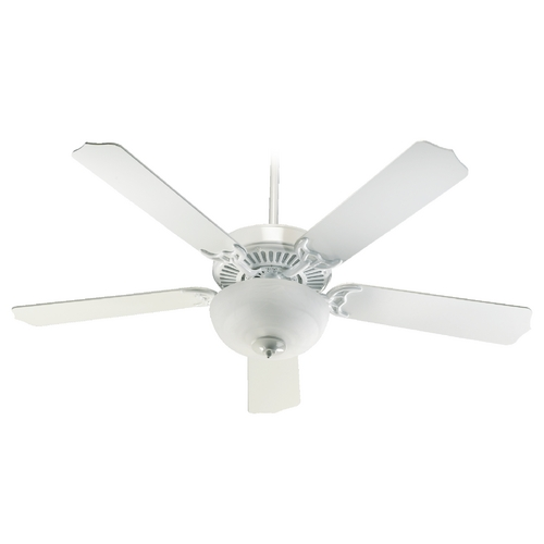 Quorum Lighting Quorum Lighting Capri Iii White Ceiling Fan with Light 77525-9206