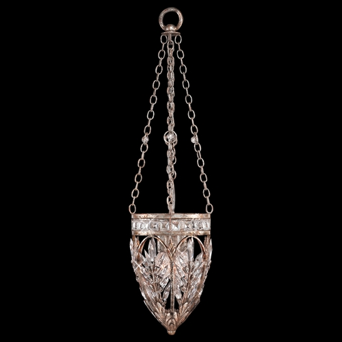 Fine Art Lamps Fine Art Lamps Winter Palace Antiqued Silver Mini-Pendant Light 308840ST