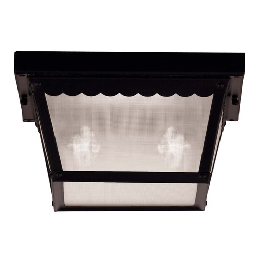 Savoy House Savoy House Black Close To Ceiling Light 07045-BLK