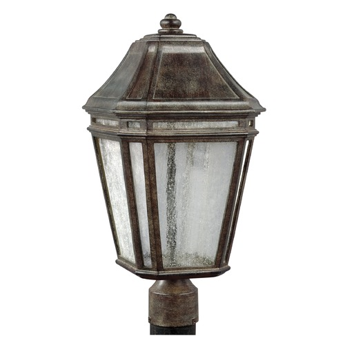 Feiss Lighting Feiss Lighting Londontowne Weathered Chestnut LED Post Light OL11308WCT-LED