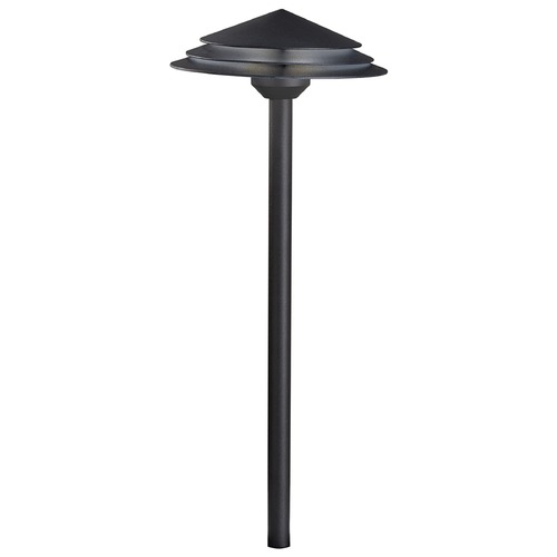 Kichler Lighting Kichler Lighting Textured Black LED Path Light 16124BKT30