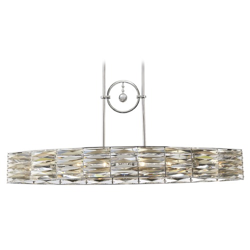 Savoy House Savoy House Lighting Lancaster Polished Chrome Island Light 1-973-6-11