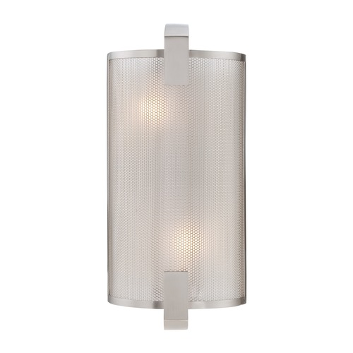 Lite Source Lighting Lite Source Polished Steel Sconce LS-16673