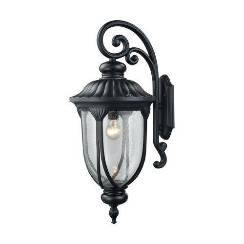 Elk Lighting Elk Lighting Derry Hill Matte Black Outdoor Wall Light 87102/1