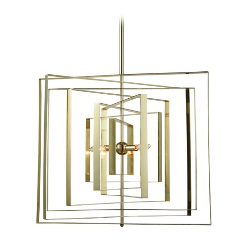 Dimond Lighting Dimond Synchrony Gold Plated Pendant Light D3151